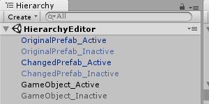 How to create a custom Hierarchy for your Unity 3D with an